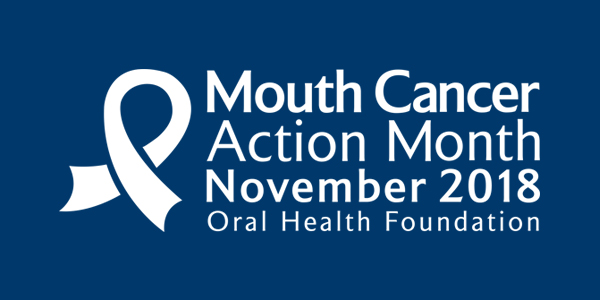 Dentists' Provident supports the annual November campaign for Mouth Cancer Action month