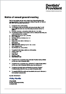 2021 Notice of annual general meeting and form of proxy